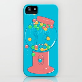 Balloon, Gumball iPhone Case