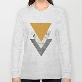 Blossoms Mango Mojito Arrows Collage Long Sleeve T-shirt