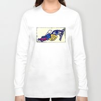 motorcycle Long Sleeve T-shirts featuring Motorcycle by Funniestplace