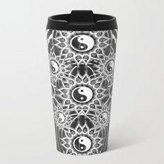 Seven Yin Yang Symmetry Balance Energy Metal Travel Mug