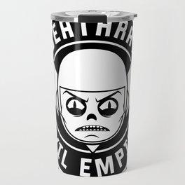 DeathRay Evil Empire Logo Travel Mug