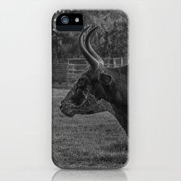 Guard Bull iPhone Case