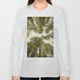 Into the Mist - Nature Photography Long Sleeve T-shirt