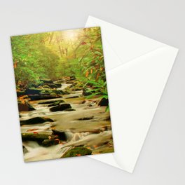 Fall Along Rock Castle Stationery Cards