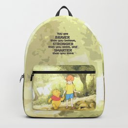 Christopher and Pooh Bear Backpack