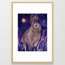 Rabbit Spirit Framed Art Print