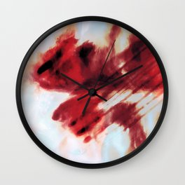 Winter impressionism Wall Clock