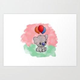 Lonely Koala Art Print