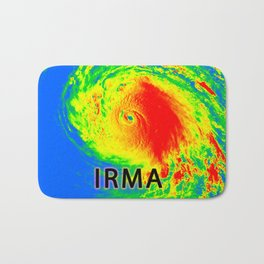 I survived hurricane Irma Bath Mat