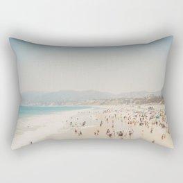summer time in Santa Monica ... Rectangular Pillow