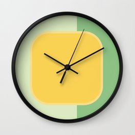 RETRO IN CHICAGO Wall Clock