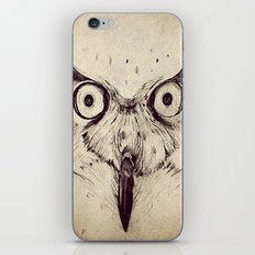 Deconstructed Owl Face iPhone & iPod Skin