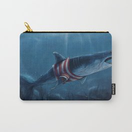 Shark in a Shirt Carry-All Pouch