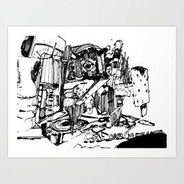 chedar Art Print