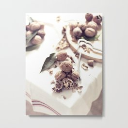 Still Life, macro food photo, fine art for home interior decoration, Metal Print
