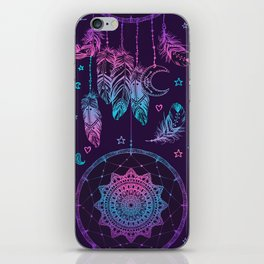 Ultra Violet Dreams, Dream Catcher Enchantment iPhone Skin