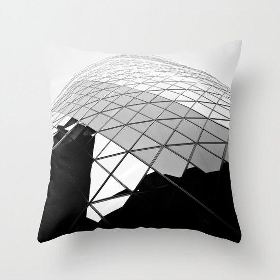 The Gherkin Throw Pillow