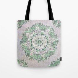 Spring Rain Mandala Tote Bag