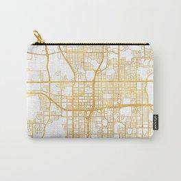 ORLANDO FLORIDA CITY STREET MAP ART Carry-All Pouch