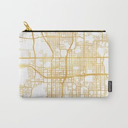 ORLANDO FLORIDA CITY STREET MAP ART Carry-All Pouch