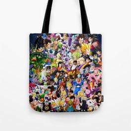 Dragon ball characters Tote Bag