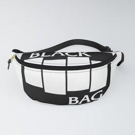 Black Bag Fanny Pack