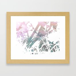 Colors Between and Through Framed Art Print