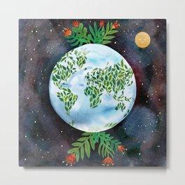 Big Green Earth  Metal Print