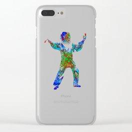 Tai Chi Clear iPhone Case