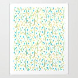 25 Tiny Blossoms Art Print
