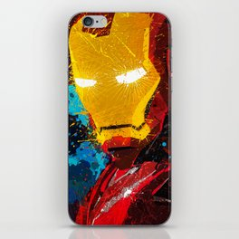 Iron man I iPhone Skin
