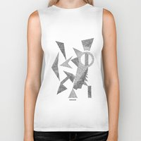 silence of the lambs Biker Tanks featuring - silence - by Magdalla Del Fresto