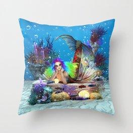 Bioluminescence Wonders Throw Pillow