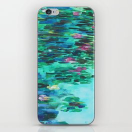 The Water Lily Pond iPhone Skin