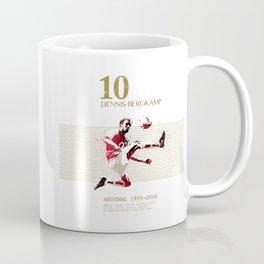 Dennis Bergkamp 10 Coffee Mug