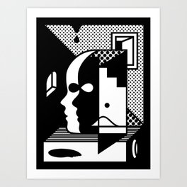 Stairs To The Attic Art Print