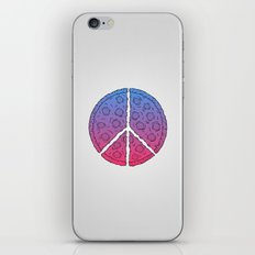 Peace & Pizza iPhone & iPod Skin