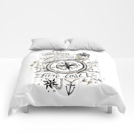 Not all those who wander are lost print Comforters