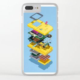 Assembly Required Clear iPhone Case