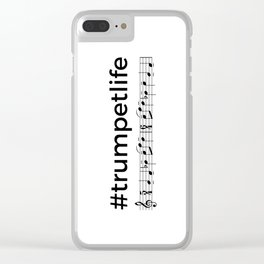 #trumpetlife 2 Clear iPhone Case