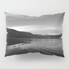 Lake Monochrome Silence I Pillow Sham