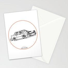 Crazy Car Art 0218 Stationery Cards