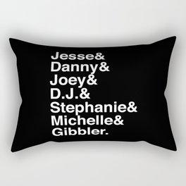 Fullest House Rectangular Pillow