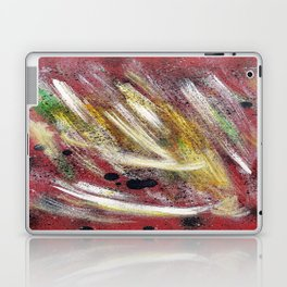 Cosmic red Laptop & iPad Skin