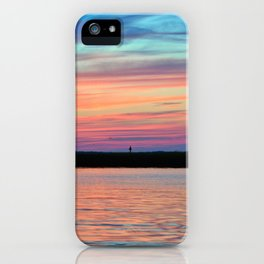 Cotton Candy Sunset II iPhone Case