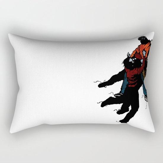 Hold On V2 Rectangular Pillow