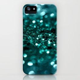 Sparkling OCEAN Glitter #1 #shiny #decor #art #society6 iPhone Case