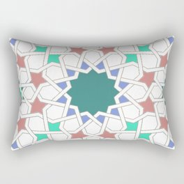 multicolored stars Rectangular Pillow