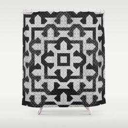 FRAMEofMIND pattern 01 Shower Curtain