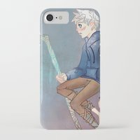 jack frost iPhone & iPod Cases featuring Jack Frost by Rosita Maria
